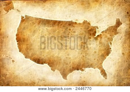 Old American Map