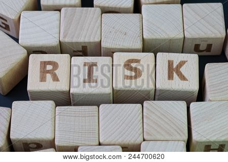 Risk Assessment, Decision To Accept Business Result In Uncertainty, Unpredictable Situation Concept,
