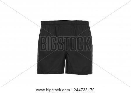 Black Men's, Shorts.