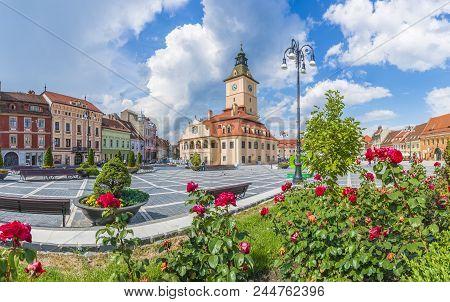 Council Square Brasov, Transylvania Landmark, Romania, Europe