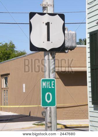 Us-1 Mile Marker