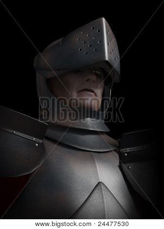 Battle Scarred Knight Portrait