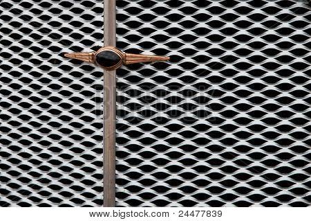 The Grille Of An Old Car