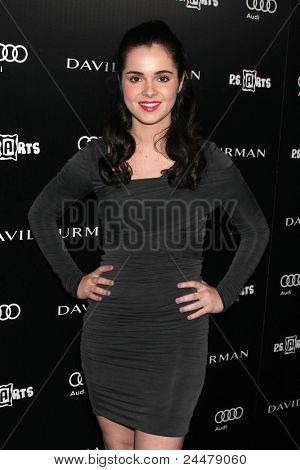 LOS ANGELES - OCT 18:  Vanessa Marano arriving at the PS Arts 20th Anniversary Event at the Sunset Tower Hotel on October 18, 2011 in West Hollywood, CA