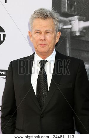 LOS ANGELES - JUN 7:  David Foster at the American Film Institute Lifetime Achievement Award to George Clooney at the Dolby Theater on June 7, 2018 in Los Angeles, CA