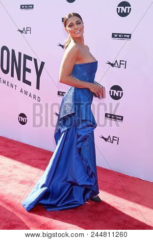 LOS ANGELES - JUN 7:  Juliana Paes at the American Film Institute Lifetime Achievement Award to George Clooney at the Dolby Theater on June 7, 2018 in Los Angeles, CA