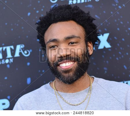 LOS ANGELES - JUN 08:  Donald Glover arrives to the