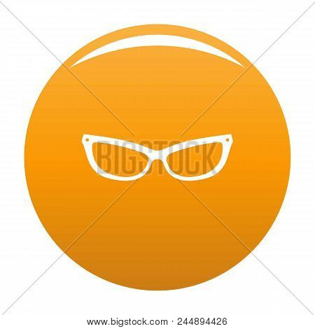 Astigmatic Eyeglasses Icon. Simple Illustration Of Astigmatic Eyeglasses Vector Icon For Any Design