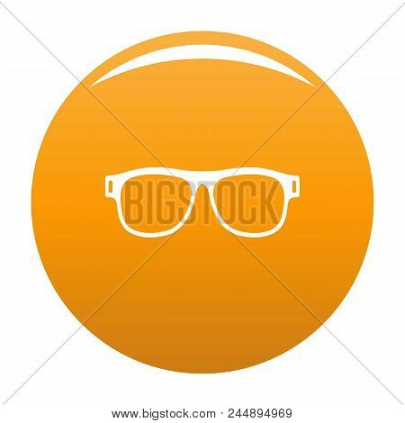 Eyeglasses With Diopters Icon. Simple Illustration Of Eyeglasses With Diopters Vector Icon For Any D