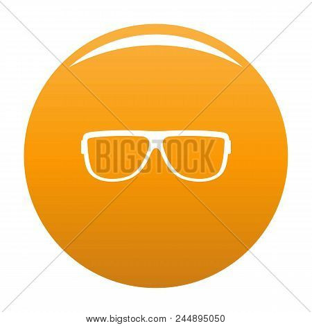 Eyeglasses Without Diopters Icon. Simple Illustration Of Eyeglasses Without Diopters Vector Icon For