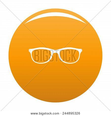 Spectacles With Diopters Icon. Simple Illustration Of Spectacles With Diopters Vector Icon For Any D