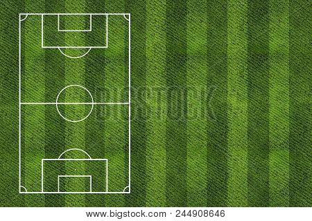 Soccer Field Background.grass Texture Or Grass Background.