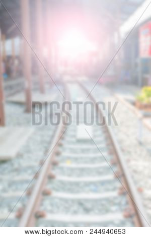 Blurred Railway Backgrounds