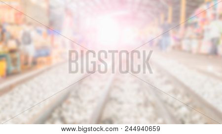 Blurred Railway Backgrounds