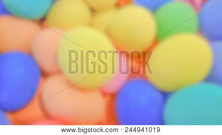Blurred Easter Eggs