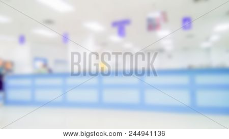 Blurred Office Backgrounds - Bright And Clean Blurred Office Environment, Abstract, Ideal For Presen