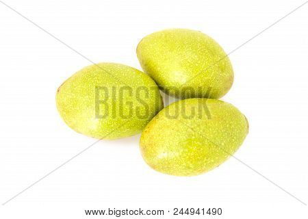 Hog Plum Fruit Isolated