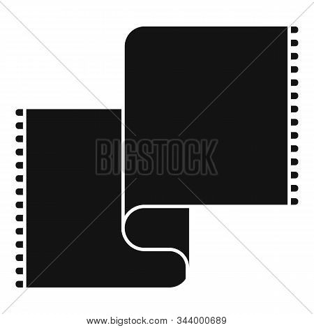Long Blanket Icon. Simple Illustration Of Long Blanket Vector Icon For Web Design Isolated On White