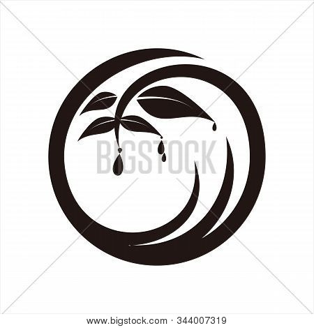 Water Icon, Isolated On A White Background. Trendy And Modern Icons. Simple Icon. Symbol For Graphic