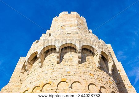 Fortified Church Of Saintes-maries-de-la-mer In Camargue, Suthern France, Built Between The 9th And