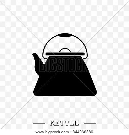 Kettle Icon Vector. Teapot Logo. Kettle Gas