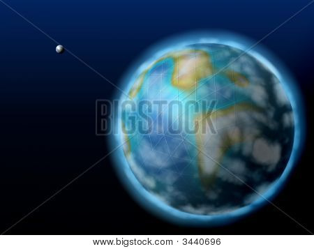 communications global business earth blue technology internet backgrounds poster