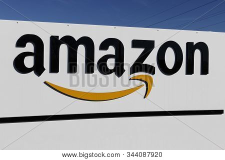 Indianapolis - Circa January 2020: Amazon.com Fulfillment Center. Amazon Is The Largest Internet-bas