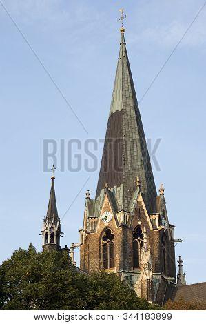 Lazaristenkirche, Vienna, Austria Is A Big Cathedral Near Westbahnhof