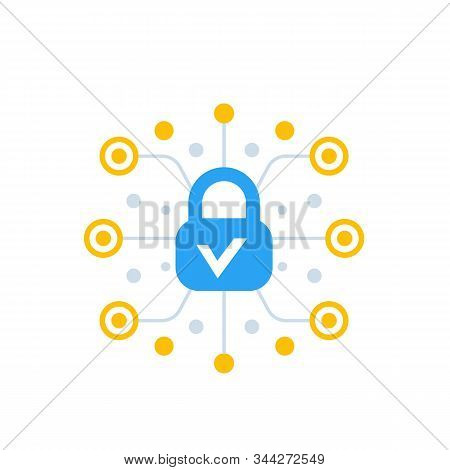 Encryption, Encrypted Data Vector Icon, Eps 10 File, Easy To Edit