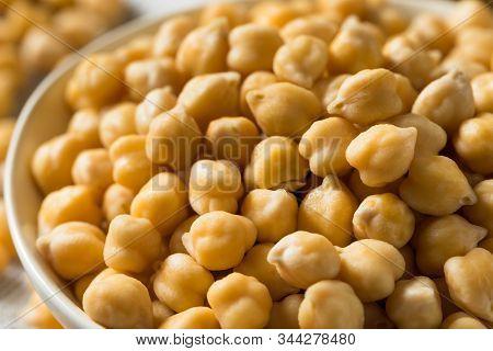 Raw Organic Garbanzo Beans Chickpeas