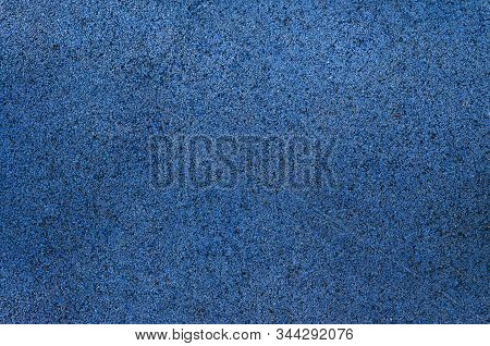 Blue Little Pebbles. The Background Consists Of Small Blue Pebbles. With Many Possible Uses. The Tex