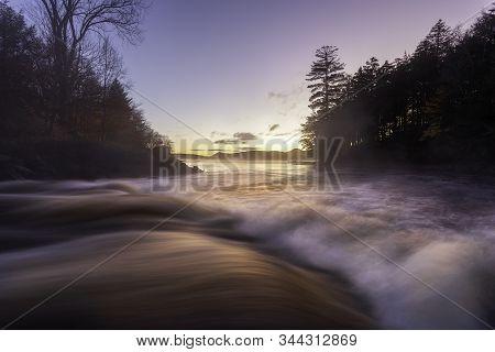 Before The Sunrise On Indian Lake Adirondacks New York