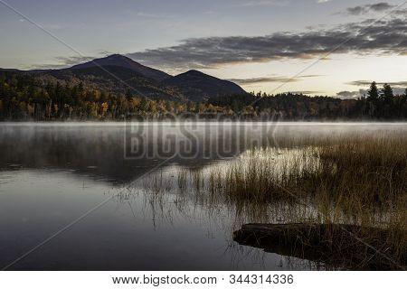 Before The Sunrise On Connery Pond Adirondacks New York