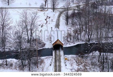 Bowers Covered Bridge - Vermont
