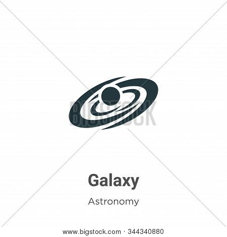 Galaxy icon isolated on white background from astronomy collection. Galaxy icon trendy and modern Ga