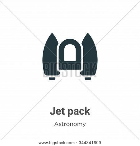 Jet pack icon isolated on white background from astronomy collection. Jet pack icon trendy and moder