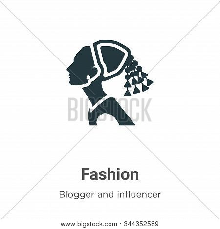 Fashion icon isolated on white background from blogger and influencer collection. Fashion icon trend