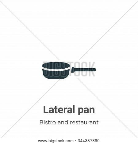 Lateral Pan Vector Icon On White Background. Flat Vector Lateral Pan Icon Symbol Sign From Modern Bi