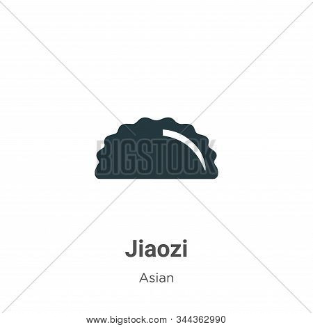 Jiaozi icon isolated on white background from asian collection. Jiaozi icon trendy and modern Jiaozi