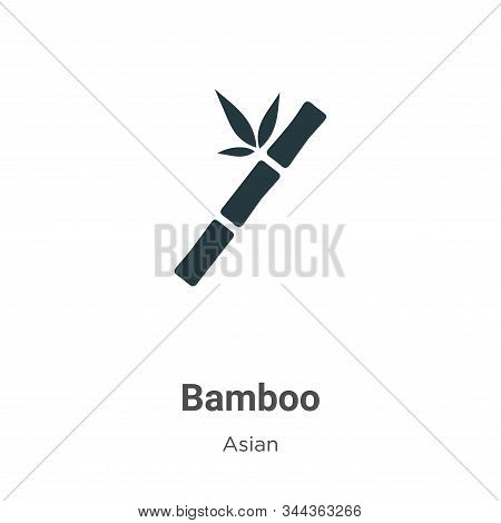 Bamboo icon isolated on white background from asian collection. Bamboo icon trendy and modern Bamboo