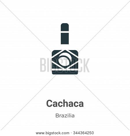 Cachaca icon isolated on white background from brazilia collection. Cachaca icon trendy and modern C