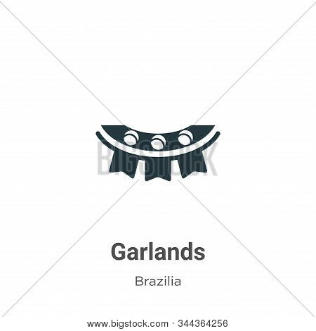 Garlands icon isolated on white background from brazilia collection. Garlands icon trendy and modern