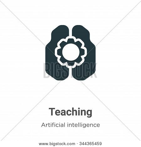 Teaching icon isolated on white background from artificial intelligence collection. Teaching icon tr