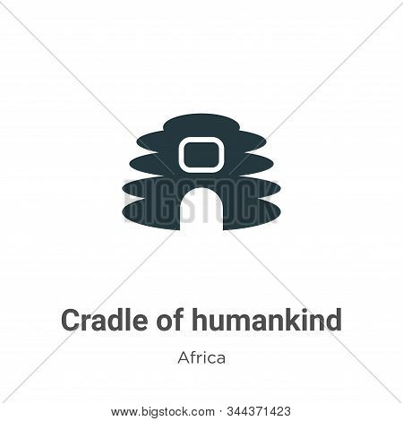 Cradle of humankind icon isolated on white background from africa collection. Cradle of humankind ic
