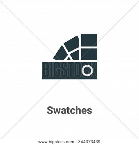 Swatches icon isolated on white background from art collection. Swatches icon trendy and modern Swat