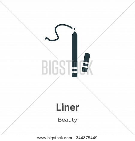 Liner icon isolated on white background from beauty collection. Liner icon trendy and modern Liner s