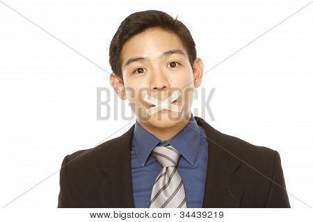 Silenced Businessman
