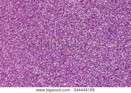 Shiny And Shimmering Fuchsia Shimmering Glitter Background