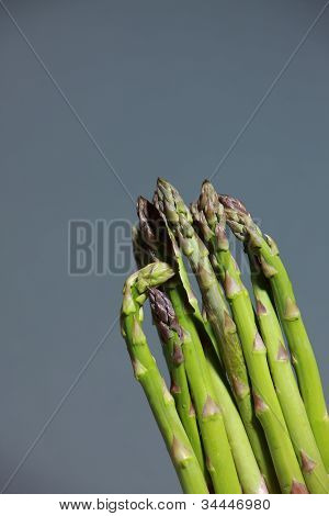 Bunch Of Fresh Asparagus Spears