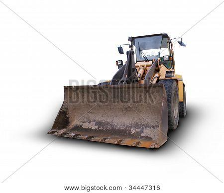 Isolated Bulldozer